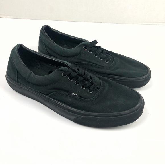 3e6a2e2c6b74de Vans Off the Wall unisex all black shoes men s 8.5.  M 5b597b1c74359b23db5eac9d